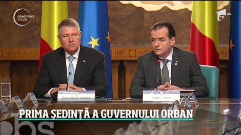 """Guvernul Orban a început """"curăţenia"""" în aparatul guvernamental"""