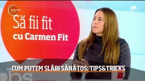 Carmen Fit, sfaturi pentru o siluetă de invidiat. Iată cum putem slăbi sănătos!