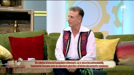 Neatza cu Răzvan și Dani. Constantin Enceanu, un adevărat păstrător al folclorului autentic românesc: Am multe concerte în perioada asta