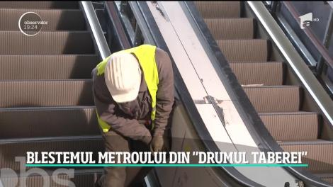 Atenţie, uşile metroului din Drumul Taberei rămân închise şi anul acesta!