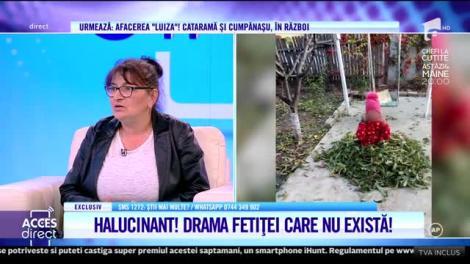 Acces Direct. Mariana Badea, mamă de suflet pentru fetița care nu există: De cinci ani stă la mine! Copila nu are acte