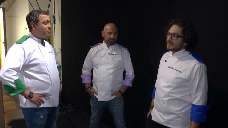 Chefi la Cuțite. Ultimele pregătiri înainte de prima confruntare. Chef Florin Dumitrescu: Strategia mea este să supraviețuiesc