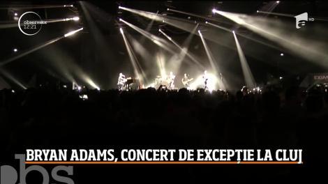 Bryan Adams, concert de excepție la Cluj-Napoca