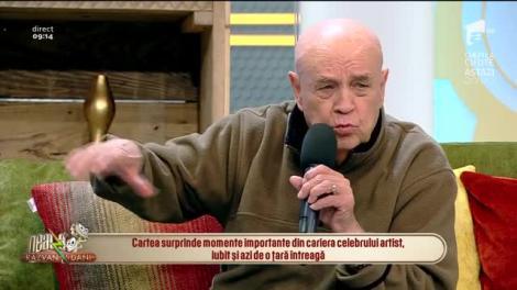 Benone Sinulescu lansează o carte despre viața lui: Am o întâmplare cu Mihail Sadoveanu în ea