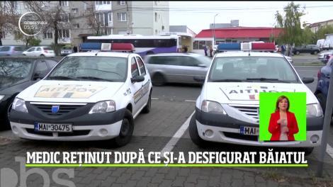 România, ţara în care copiii sunt bătuţi şi maltrataţi de propriii părinţi! În Timişoara, un băiat de 13 ani a ajuns la spital desfigurat de tatăl său