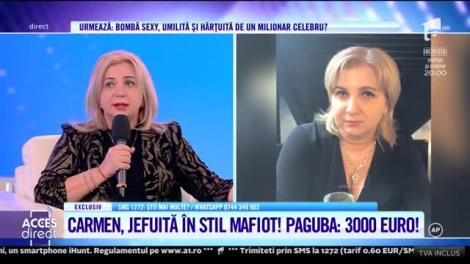 """Carmen Șerban, jefuită după moartea tatălui ei: """"Am rămas fără bani, fără acte, fără carduri, fără nimic!"""""""