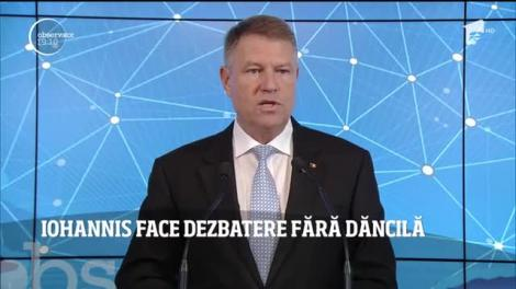 Jocurile sunt făcute! Nu vom avea o înfruntare Iohannis-Dăncilă. Preşedintele a anunţat va organiza o dezbatere doar cu jurnaliştii