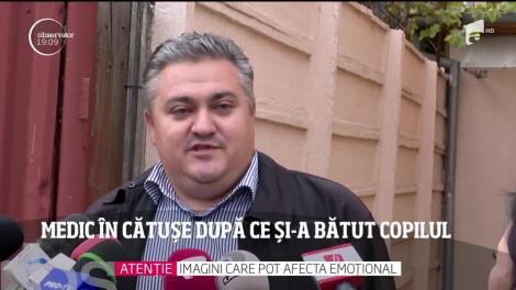 Un medic chirurg din Timișoara, în cătușe după ce și-a bătut copilul