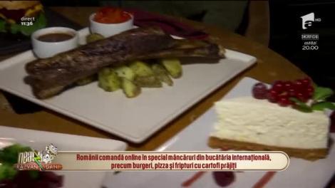 Foamea s-a mutat în online! 8,4% din românii își comandă mâncarea de pe internet