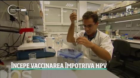 În mai puţin de două luni, începe vacinarea gratuită împotriva HPV!