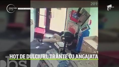 Doi hoţi cu poftă de ceva dulce au dat lovitura într-un magazin din Timişoara