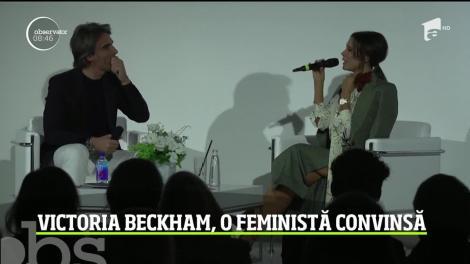 Victoria Beckham, o feministă convinsă. Fosta cântăreață consideră că în unele domenii, femeile chiar sunt mai competente decât bărbaţii