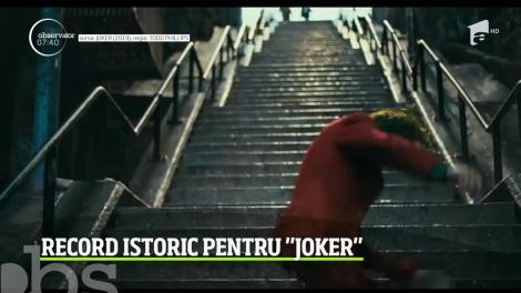 Record istoric pentru filmul Joker. Va deveni prima peliculă care depăşeşte pragul încasărilor de un miliard de dolari