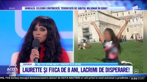 Acces Direct. Fiica frumoasei Laurette a fost agresată? Fotomodelul face acuzaţii extrem de grave!