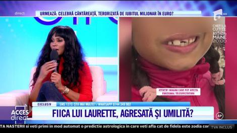 Acces Direct. Fetiţa lui Laurette, agresată la şcoală!