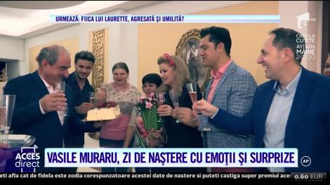 Acces Direct. Actorul Vasile Muraru şi-a serbat ziua de naştere cu o farsă