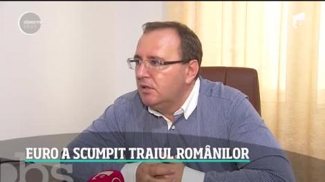 Euro a scumpit ratele românilor