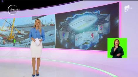 Un singur stadion din cele patru promise va fi gata pentru Euro 2020