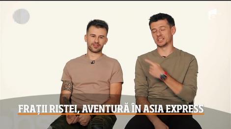 """Florin Ristei şi fratele său au pornit în aventura vieţii lor: """"Asia Express""""! Ce problemă întâmpină fiecare dintre ei"""