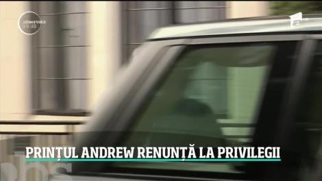Prinţul Andrew, unul din fiii Reginei Elisabeta a Doua a Marii Britanii, renunţă la toate atribuţiile regale