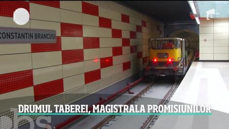 Metroul din Drumul Taberei va fi gata în iunie 2020