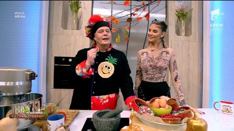 Rețeta Zilei - Neatza cu Răzvan şi Dani. Vorbe dulci, un desert delicios cu cremă din cafea