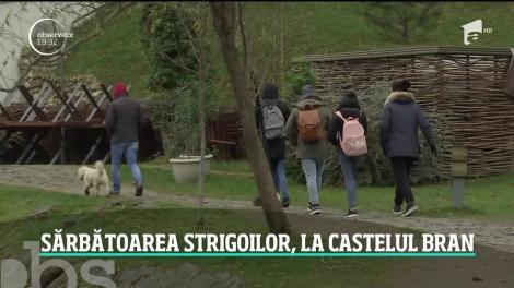 Cel mai înfricoşător loc din România: Sărbătoarea strigoilor la Castelul Bran