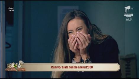 """Surpriză de proporții în platou, la """"Neatza""""! Dani Oțil i-a luat inel iubitei. Reacția Gabrielei, surprinsă în culise"""
