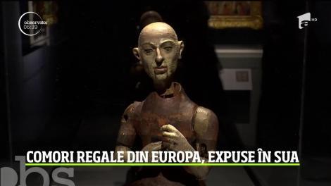 Comori rare ale caselor regale din Europa, expuse în Sua