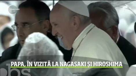Papa Francisc cere liderilor mondiali să renunţe la armamentul nuclear