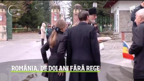 Ultimul suveran al României a fost comemorat în oraşul regilor