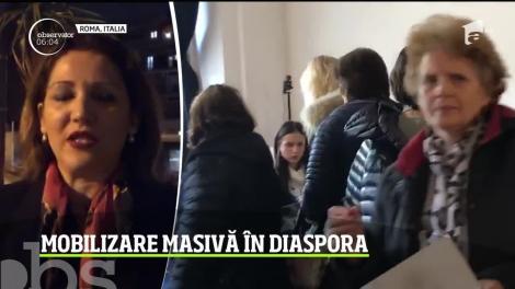 Mobilizare exemplară a românilor din Italia: peste 50.000 de persoane au votat