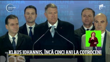 Klaus Iohannis, încă cinci ani la Cotroceni. PSD, cel mai prost rezultat la prezidențiale
