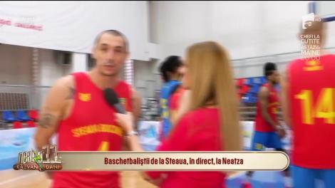 Marian Drăgulescu s-a apucat de baschet! A devenit noul pivot de la Steaua!