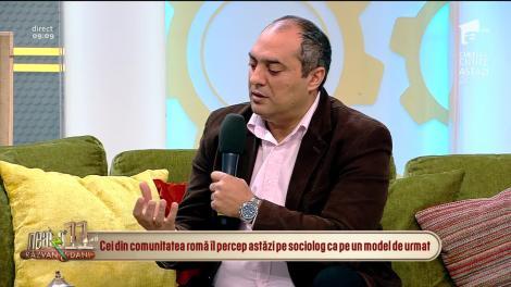Neatza cu Răzvan și Dani. Profesorul Gelu Duminică pregăteşte o carte despre proverbele şi zicerile româneşti cu romi