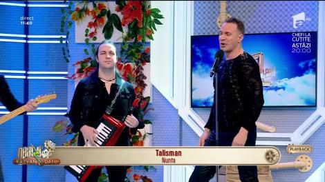 """Neatza cu Răzvan şi Dani. Talisman cântă piesa """"Nunta"""""""