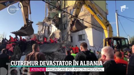 Cutremur devastator în Albania. Mai multe oraşe şi sate sunt în ruină