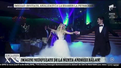 """Imagini nedifuzate de la nunta Andreei Bălan: """"Am plâns! Nu credeam că sunt aşa..."""""""