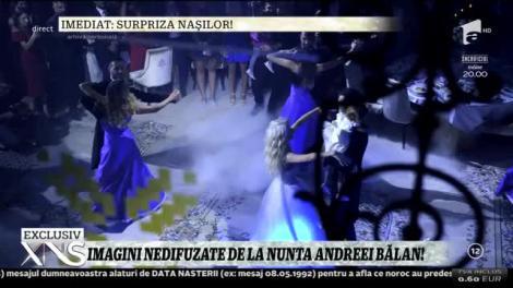 Xtra Night Show. Imagini de la petrecerea de nuntă a Andreei Bălan. Lora a prins buchetul!