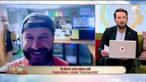 """Bogdan Olteanu, candidat """"Cel mai sexy tatic"""", în direct , la Neatza cu Răzvan și Dani!"""