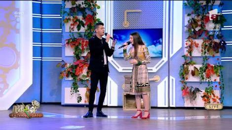 """Laura Bretan și Bogdan Mihai cântă, LIVE la Neatza cu Răzvan și Dani, melodia """"Believe"""""""
