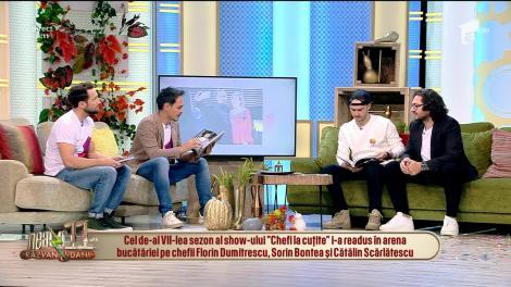 Neatza cu Răzvan și Dani. Florin Dumitrescu, celebrul jurat de la Chefi la cuțite, a lansat cartea Românește. Punct și de la capăt