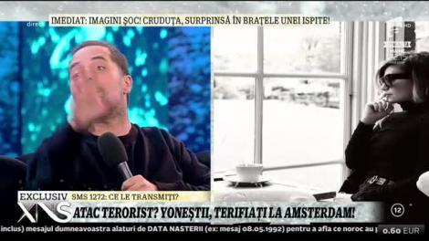 """Anamaria și Tudor Ionescu, martorii unei amenințări teroriste? """"Ne-a depășit o mașină militară. Am fost izolați"""""""