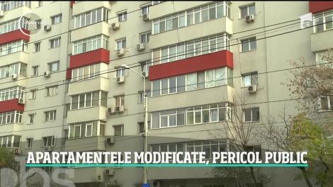 O modă periculoasă şubrezeşte blocurile din România. Mulţi proprietari îşi dărâmă ilegal ziduri în apartamente