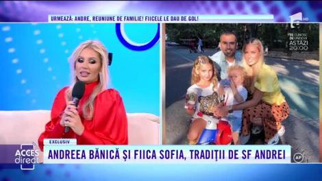 Andreea Bănică, cu fetița Sofia la Acces Direct: La început eram tristă că mama pleaca de acasă, dar după am înțeles că ea muncește pentru noi