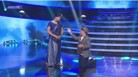 Te cunosc de undeva! Liviu Vârciu și Andrei Ștefănescu se transformă în Raj Kapoor și Nargis - Suntem îndrăgostiți