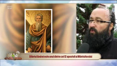 Neatza cu Răzvan și Dani. Zi de mare sărbătoare! Cine este Sfântul Andrei și ce a făcut el în România