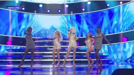 Te cunosc de undeva! Barbara Isasi se transformă în Christina Aguilera - Show me how you burlesque