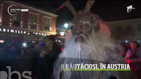 Parada demonilor răutăcioși, în Austria