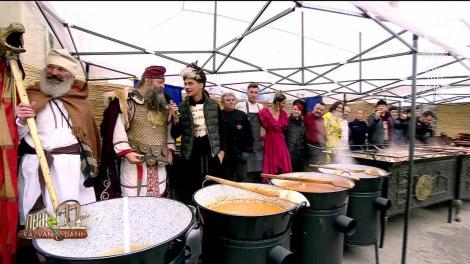Echipa de la Neatza cu Răzvan și Dani, la masă cu strămoşii noștri. Iată ce mâncau dacii şi romanii